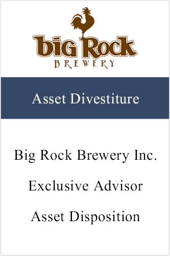 BigRock (Asset Divestiture)