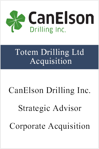 CanElson (Totem Drilling Ltd Acquisition)