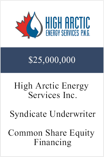 High Arctic ($25,000,000)