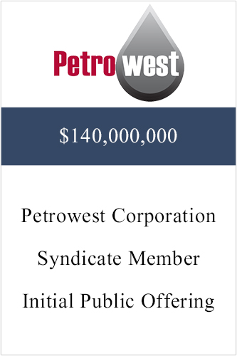 Petrowest ($140,000,000)