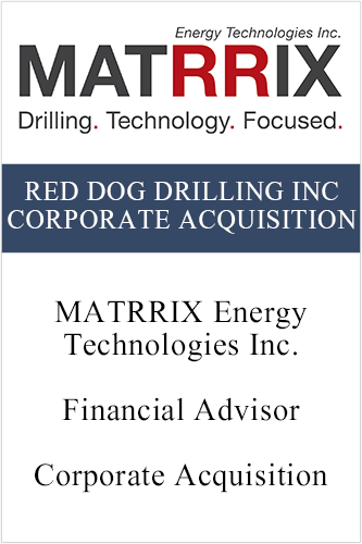 RedDog Drilling Inc Corporate Acquisition